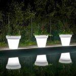 LED Plant Pots